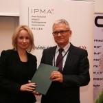dr Joanna Rzempała z Panem Leszkiem Staśto (Członek Zarządu Ipma Polska)